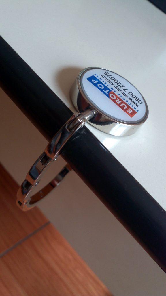Chaveiro Porta Bolsa em Metal Dobravel - PB005