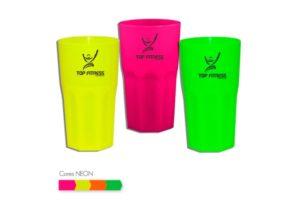 Copo Personalizável Neon 380ml - Plástico