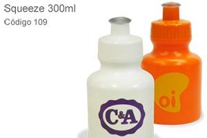 Squeeze 300ml - Plástico