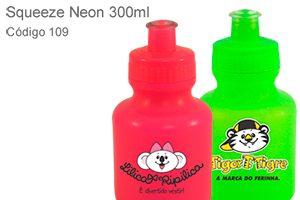 Squeeze Neon 300ml - Plástico